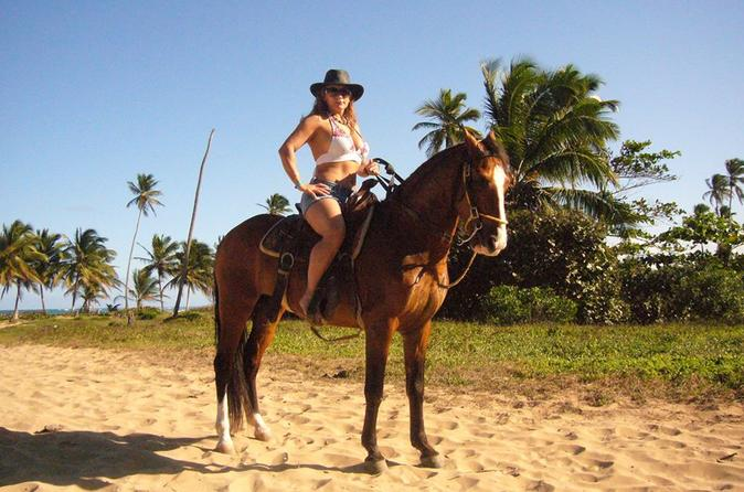 BEST HORSEBACK RIDING TOURS ON THE BEACH IN PUNTA CANA ONE AND TWO HOURS TOURS