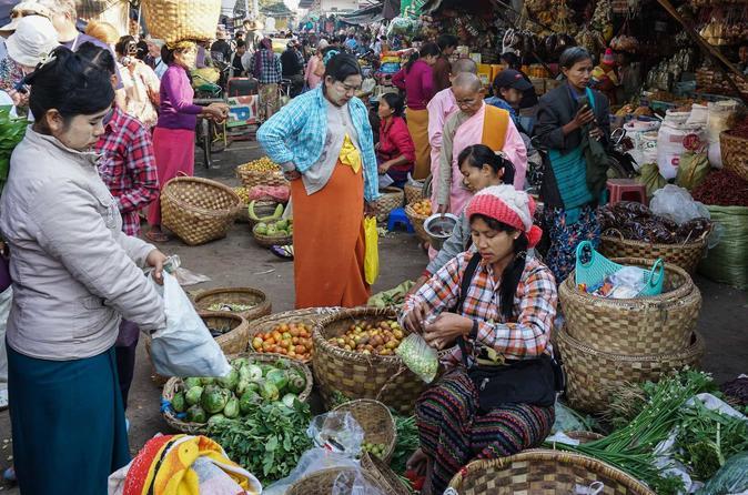 これがミャンマーの市場