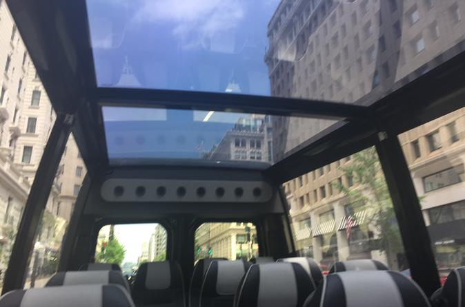 Washington D.C. Private Tour by Glass-Top Convertible Vehicle
