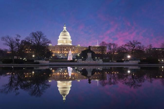 Washington DC Holiday Lights Sightseeing Tour