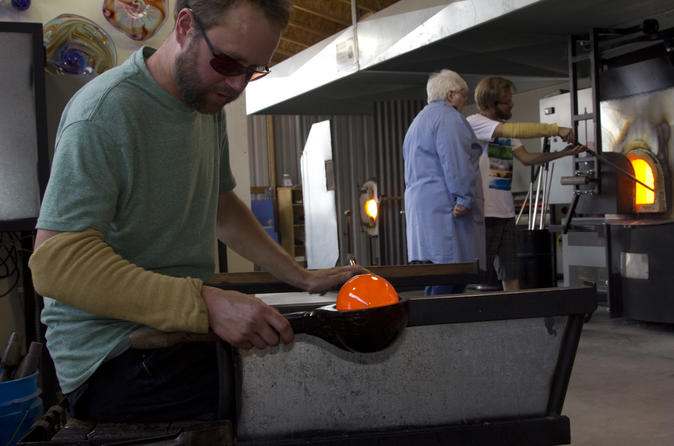 Skagway shore excursion glassblowing lesson at jewell gardens in skagway 151745