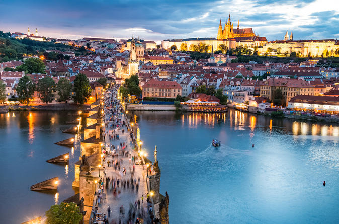 Private Full Day Tour to Prague with Luxury car and Local guide