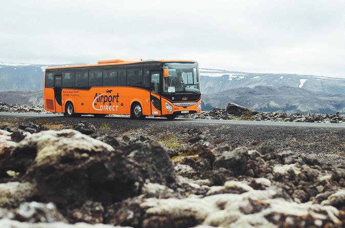 Airport Transfer Between Keflavik Airport and Reykjavik Terminal one way or round trip