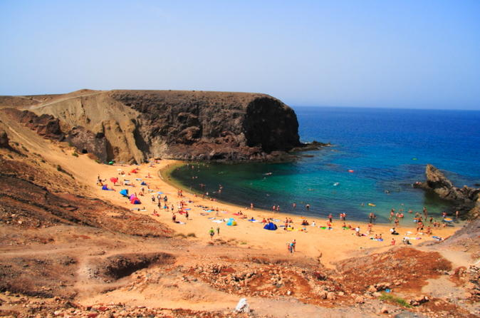 Papagayo beach cruise by luxury catamaran in lanzarote 151818