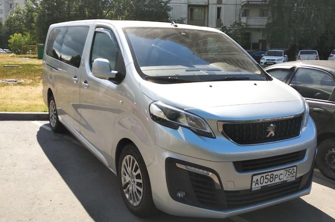 Minivan Taxi from Moscow to the Domodedovo airport