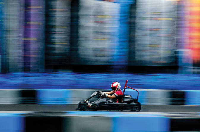 kart over fort lauderdale Gas Powered Go Kart Race Package with Arcade Games for One Person kart over fort lauderdale