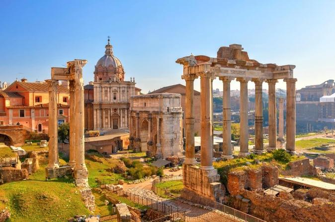 Imperial Rome Day Trip from Florence by High-Speed Train Including Skip-the-Line Colosseum and Roman Forum Tour