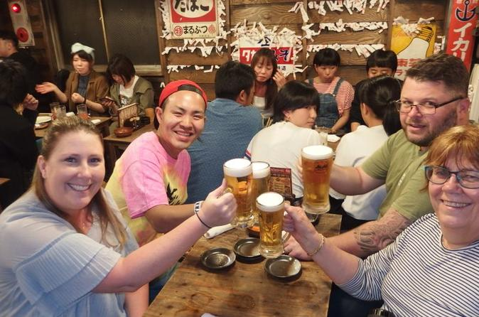 Osaka Bar Hopping Tour: Taste of Local Food & Nightlife at Hidden Pubs in Namba
