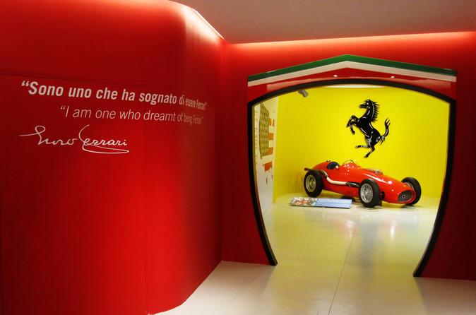 Excursão para grupos pequenos com comida italiana e Museu Ferrari saindo de Bolonha com almoço gourmet