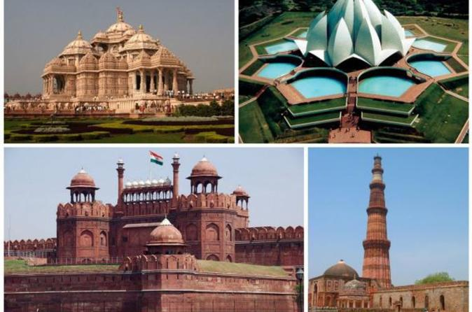 Private Full-Day Combo Tour Of Old And New Delhi City With Entrance Fees