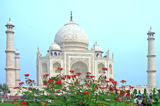Sunrise & Sunset Taj Mahal Private Sightseeing Tour With Entrances & Lunch