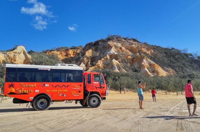 Excursão de 3 dias à Ilha Fraser em veículo 4x4 partindo de Brisbane ou Gold Coast