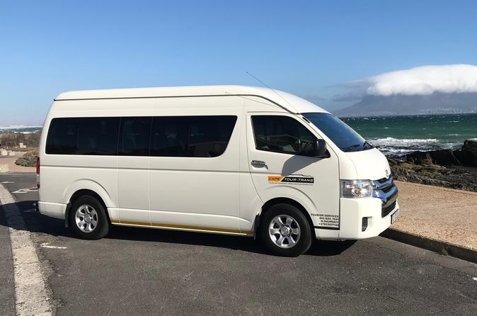 13 Passenger Seater Minibus Hire With Driver - Cape Town