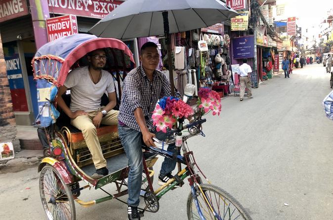 Thamel to Durbar Square Sightseeing by Rickshaw