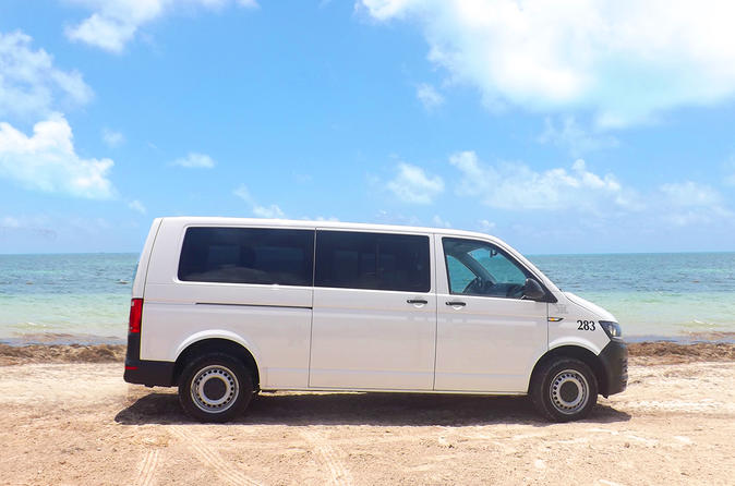 Cancun Airport-Hotel-Airport Roundtrip Shuttle Transportation