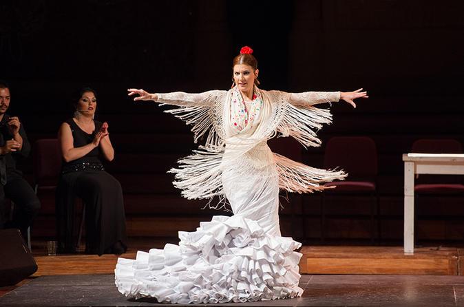 Apresentação de flamenco no Teatre Poliorama ou Palau de la Música Catalana
