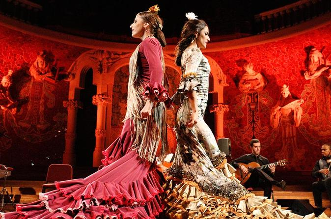 Flamenco Performance at Teatre Poliorama or Palau de la Música Catalana