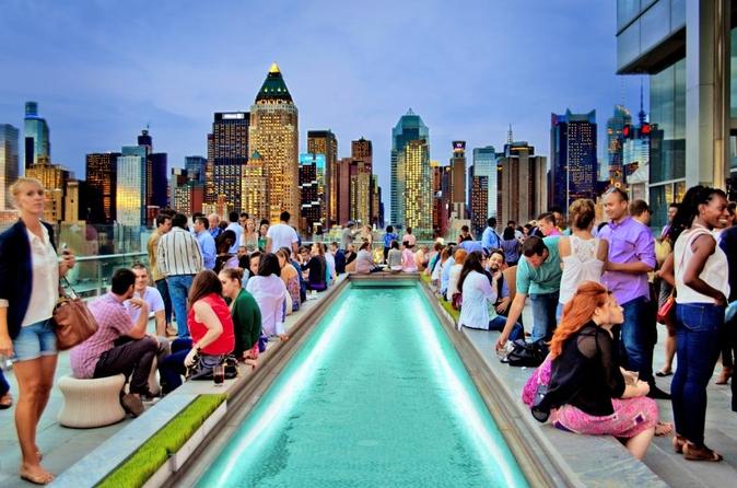 Experiência relaxante em um terraço em Nova York