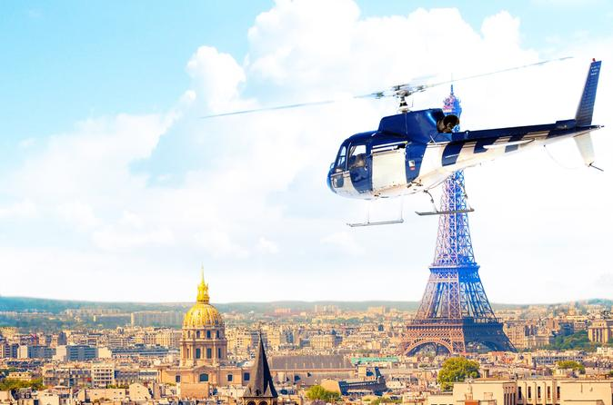 Versailles Helicopter Tour from Paris
