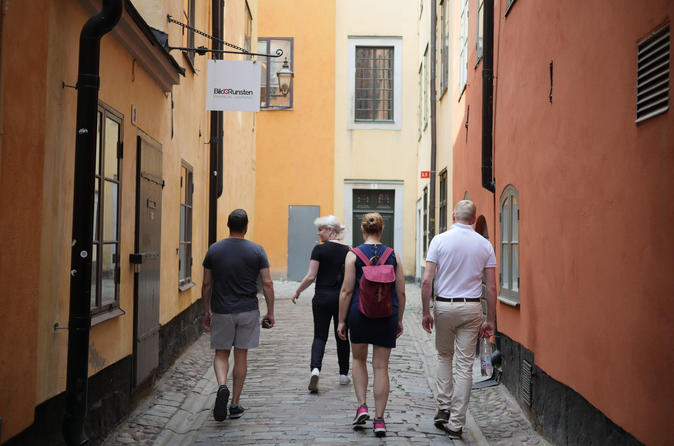 Stockholm Small Group Walking Tour