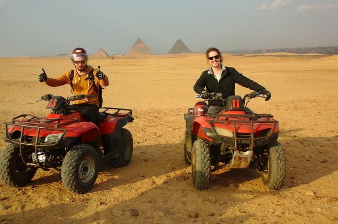 Pyramids & Desert Safari Trip