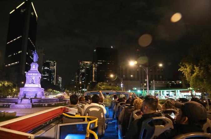 Turibus Nocturno (Official Night City Tour) - Mexico City