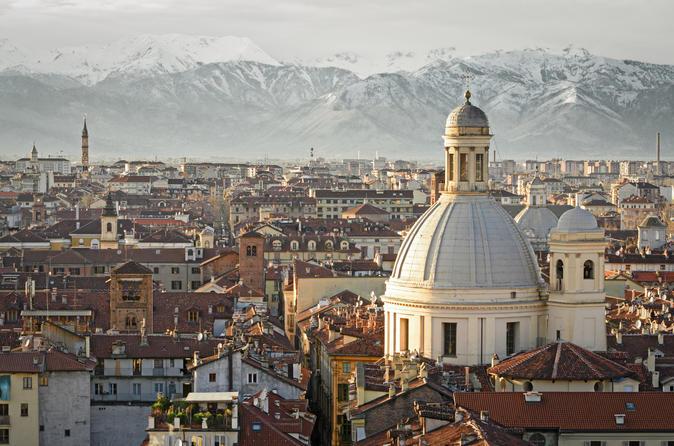 Excursão a pé de Turim, incluindo visita guiada ao Palazzo Carignano