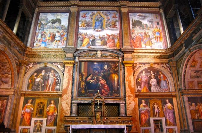 Excursão de arte em Milão: 'A Última Ceia' e a igreja de San Maurizio al Monastero Maggiore de Da Vinci