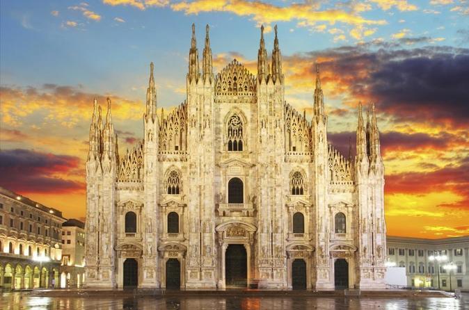 O melhor da experiência em Milão, incluindo excursão para A Última Ceia e para a vinha de Da Vinci e para a Catedral de Milão