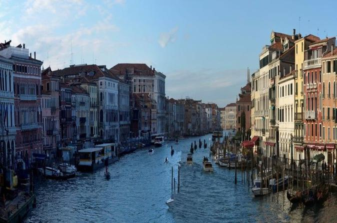 Walking Through the City of Venice
