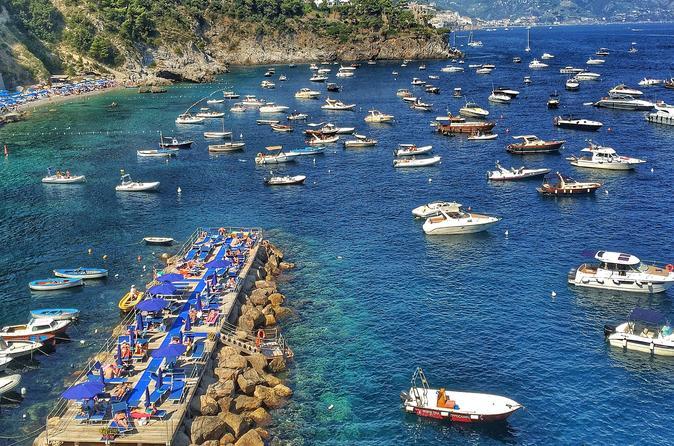 Amalfi Coast Mini-Motor Boat Excursion