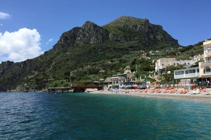 Amalfi Coast Cruises, Sailing & Water Tours