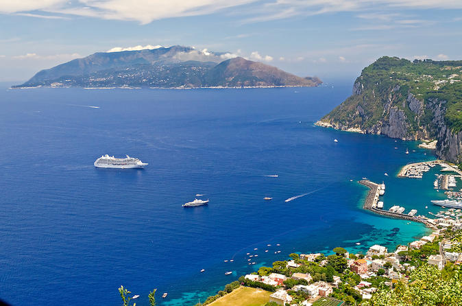 Naples to Capri Private Boat Excursion
