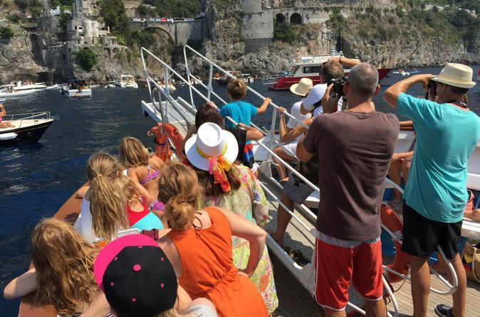 Private Tour: Full-Day Amalfi Coast Cruise from Sorrento or Capri
