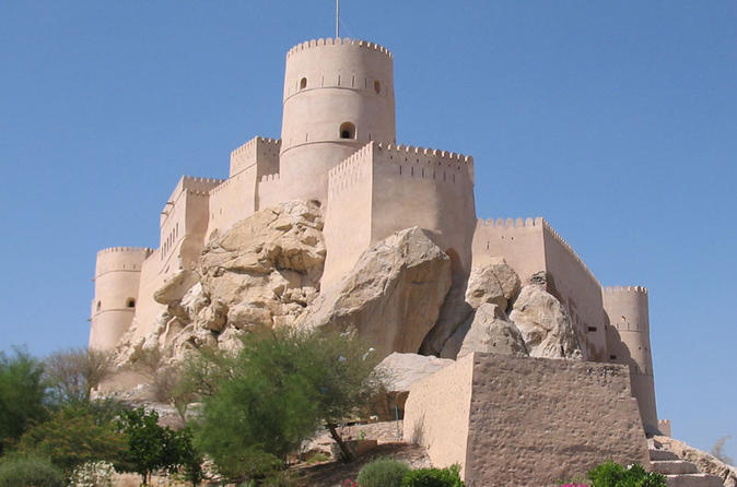 Private Tour: Nakhl and Rustaq Forts and Hot Water Springs from Muscat