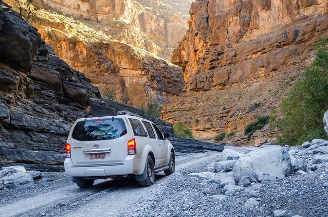 Private Tour: Wadi Thrills at Wadi Arbayeen