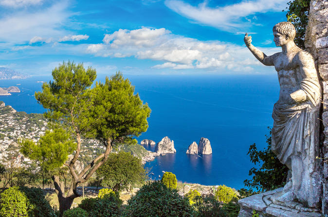 Private Capri Day Trip From Rome with Hotel Pickup