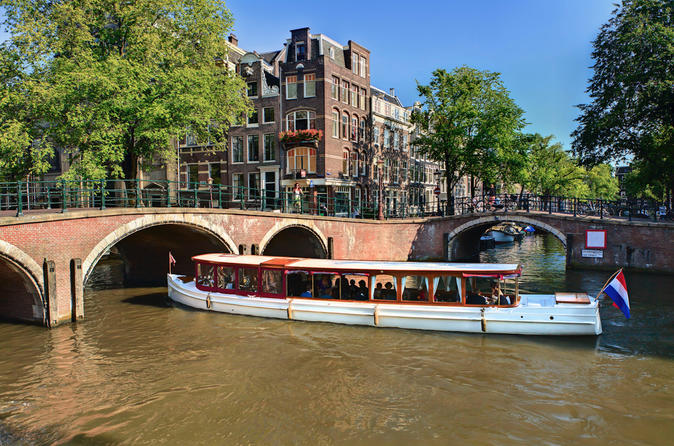 Combi Ticket: City Centre Walking Tour & Canal Cruise - Amsterdam
