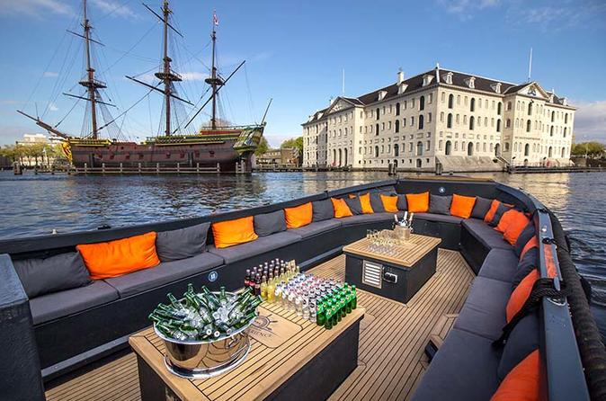 Luxury Small Open Boat Canal Tour - Amsterdam