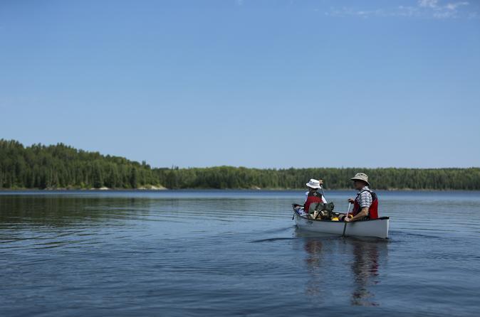 Seagrim Lakes Canoe Tour