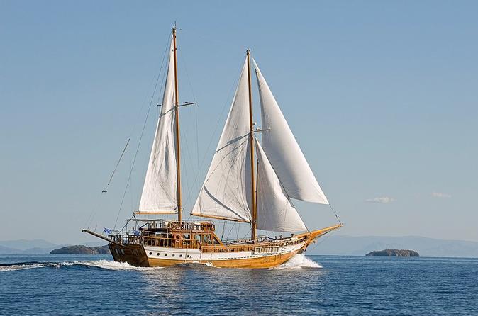 All Day Cruise Luxury Sailing Experience to Agistri-Moni-Aegina