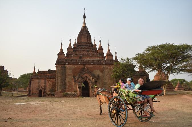 Amazing Bagan, Full Day Tour By Car And Guide