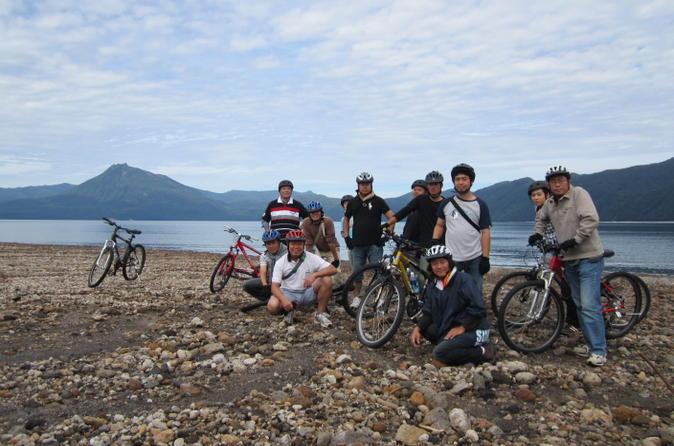Lake shikotsu mountain bike tour from sapporo in sapporo 162483