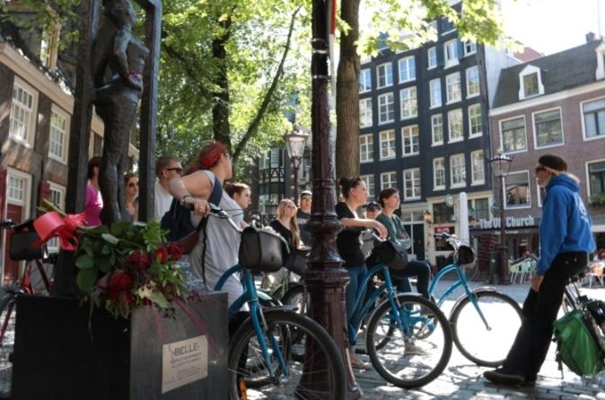 Excursão de bicicleta pela cidade de Amsterdã