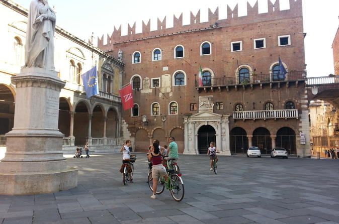Verona bike tour in verona 155824