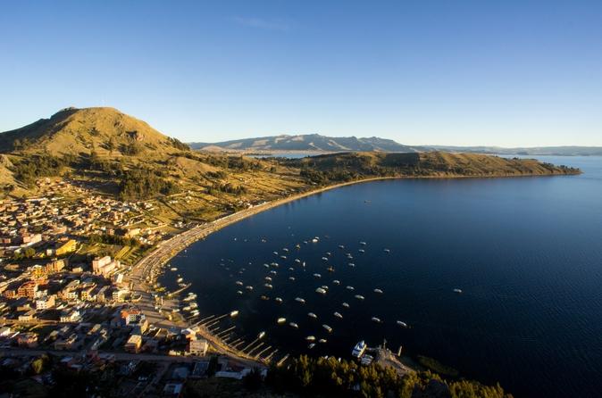 Excursão privada: Lago Titicaca, Copacabana e Ilha do Sol, saindo de La Paz