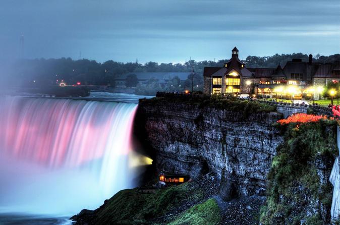 Niagara falls night tour with dinner and cruise in niagara falls 218806