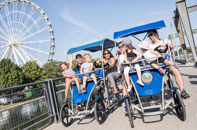 Montreal Quadricycle Rental
