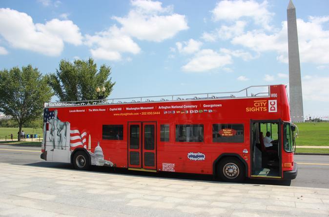Excursão de ônibus panorâmico em Washington DC: Monumentos, pontos turísticos e Memoriais