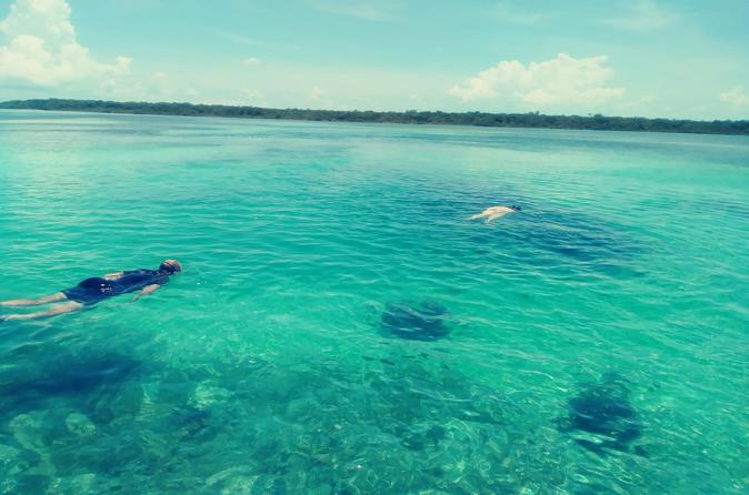 Blue hole snorkeling, and turtle park